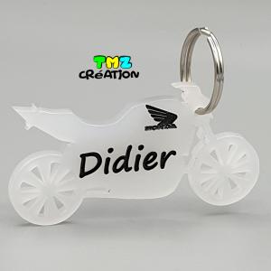 porte clé moto, cadeaux personnalisés