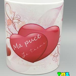 mug saint valentin, cadeaux personnalisés