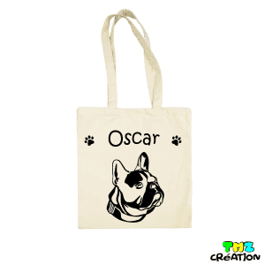 tote bag bouledogue francais