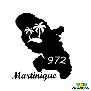 stickers auto martinique