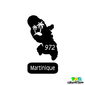 stickers smartphone martinique