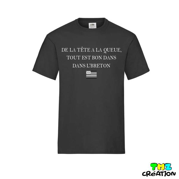 tee shirt tout est bon dans l'breton