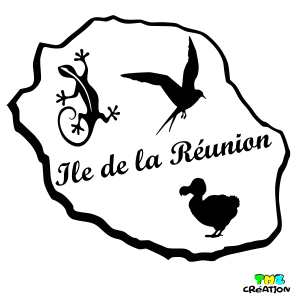 sticker ile de la reunion