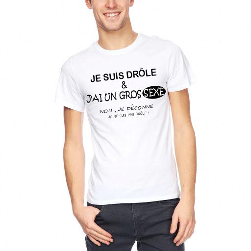 tee shirt gros sexe
